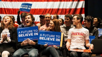 More Millennials for Sanders
